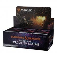 JUEGO DE CARTAS DRAFT BOOSTER WIZARD OF THE COAST MAGIC THE GATHERING DUNGEONS & DRAGONS ADVENTURES IN THE FORGOTTEN REALMS 36 SOBRES ESPAÑOL