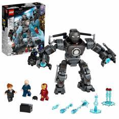 LEGO CONSTRUCCIONES MARVEL INFINITY SAGA VENGADORES IRON MAN CAOS DE IRON MONGER