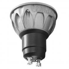 BOMBILLA LED EVO SILVER ELECTRONIC DICROICA 8W=80W/ GU10/ 4000K/ 38º/ 690lm/ LUZ NEUTRA NATURAL/ A+