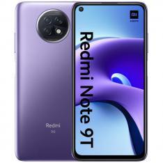 """TELEFONO MOVIL SMARTPHONE XIAOMI REDMI NOTE 9T DAYBREAK PURPLE / 6.53""""/ 64GB ROM/ 4GB RAM/ 5G / 48+2+2 MPX/ 13 MPX/ 5000 mAh/ HUELLA/ FACE ID/ DUAL SIM"""