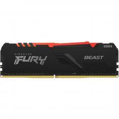 MEMORIA DDR4 16GB KINGSTON / 3200MHZ / PC4 25600 / FURY BEAST RGB / CL 16