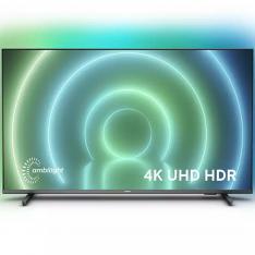 "TV PHILIPS 50"" LED 4K UHD/ 50PUS7906/12/ ANDROID TV/ SMART TV/ 4 HDMI/ 2 USB/ DVB-T/T2/T2-HD/C/S/S2"