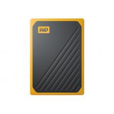DISCO DURO EXTERNO HDD WD WESTERN DIGITAL 2TB MY PASSPORT GO SSD USB 3.0 AMBAR