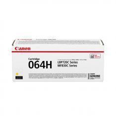 CARTUCHO TONER CANON 064H AMARILLO 10400 PAGINAS