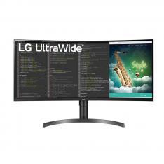 """MONITOR LED LG 35WN73 35"""" CURVO 3440 X 1440 21:9 HDMI DISPLAY PORT USB GAMIG REG. ALTURA"""