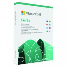 MICROSOFT OFFICE 365 FAMILIA 6 LICENCIAS 1 AÑO MEDIALESS P8