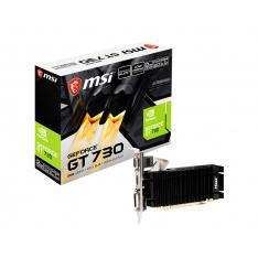 TARJETA GRAFICA MSI GEFORCE GT 730 LOW PROFILE 2GB GDDR3