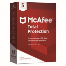ANTIVIRUS MCAFEE TOTAL PROTECTION 2019 5 DISPOSITIVOS
