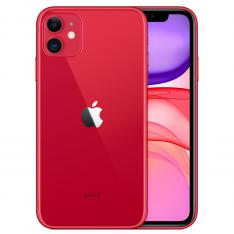 "TELEFONO MOVIL SMARTPHONE APPLE IPHONE 11 64GB ROJO / 6.1"" / DUAL SIM"