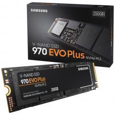 DISCO DURO INTERNO SOLIDO SSD SAMSUNG MZ-V7S250BW / 970 EVO PLUS/ 250GB/ M.2 NVME