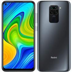 """TELEFONO MOVIL SMARTPHONE XIAOMI REDMI NOTE 9 ONIX BLACK/ 6.53""""/ 128GB ROM/ 4GB RAM/ 48+8+2+2MPX/ 13MPX/ 5020MAH/ 4G/ HUELLA/ OCTA CORE"""