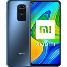 "TELEFONO MOVIL SMARTPHONE XIAOMI REDMI NOTE 9 MIDNIGHT GREY/ 6.53""/ 128GB ROM/ 4GB RAM/ 48+8+2+2MPX/ 13MPX/ 5020MAH/ 4G/ HUELLA/ OCTA CORE"