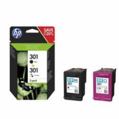 MULTIPACK HP N9J72AE Nº301 NEGRO Y TRICOLOR