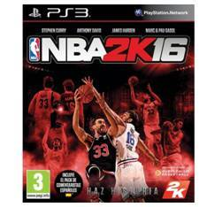 JUEGO PS3 - NBA 2K 16 PARA PS3