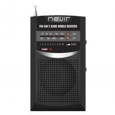 RADIO NEVIR DE BOLSILLO NVR-136 NEGRO
