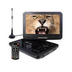 """DVD PORTATIL NEVIR 10.1"""" NVR-2768DVD-PUCT2 NEGRO TDT HD USB"""