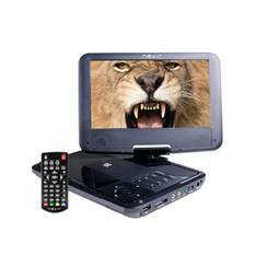 "DVD PORTATIL NEVIR 9"" NVR-2781DVD-PCU NEGRO USB"