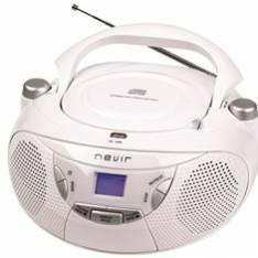 a7a466e60 RADIO CD MP3 PORTATIL NEVIR NVR-475U . Precios RADIO - RADIO ...
