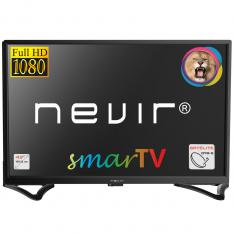 "TV NEVIR 43"" LED FHD/ NVR-8050-43FHD2S-SMA-N/ SATELITE/ HDMI/ USB-R SMART TV ANDROID 7.1"