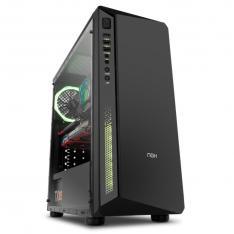 CAJA ORDENADOR GAMING NOX INFINITY ATOM ATX USB 3.0 SIN FUENTE CRISTAL TEMPLADO