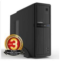 ORDENADOR DE OFICINA PHOENIX OBERON PRO INTEL CORE I3 7º GEN 4GB DDR4 240 GB SSD RW MICRO ATX SLIM  PC SOBREMESA