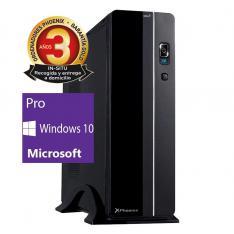 ORDENADOR DE OFICINA PHOENIX OBERON PRO INTEL CORE I3 9º GEN 8GB DDR4 240 GB SSD RW MICRO ATX SLIM  PC SOBREMESA WINDOWS 10 PRO