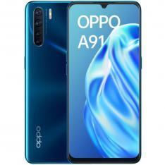 "TELEFONO MOVIL SMARTPHONE OPPO A91 BLAZING BLUE / 6.4"" / 128GB ROM / 8GB RAM / 48+8+2+2MPX - 16MPX / DUAL SIM / HUELLA"