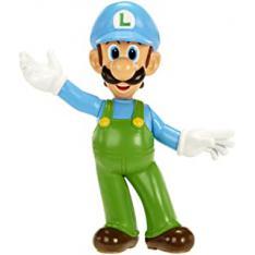 """Figura Nintendo W1 Luigi de Hielo 2.5"""" Edicion Limitada"""