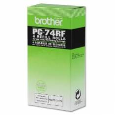 CINTA TERMICA BROTHER PC74RF144 PAGINAS FAX T104 T106 / 4 PAQUETES
