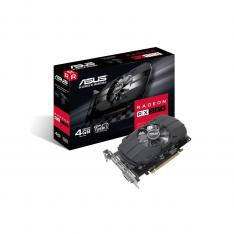 TARJETA GRAFICA ASUS AMD PH RX550-4G-M7 4GB GDDR5 DVI HDMI DISPLAY PORT