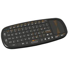 MINI TECLADO PHOENIX BLUEKEY PRESENTER BLUETOOTH MINI RECEPTOR USB CON TOUCHPAD Y PUNTERO LASER