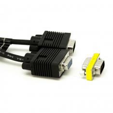 CABLE ADAPTADOR / PROLONGADOR  VGA PHOENIX MACHO MACHO 10M NEGRO