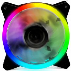 VENTILADOR ORDENADOR GAMING PHOENIX LED GAMING 120MM RGB (ARGB)  1200 RPM   DOBLE ANILLO LED