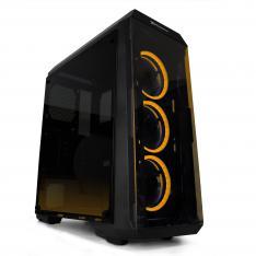 CAJA ORDENADOR GAMING LED PHOENIX FREYA EDICION RGB / ATX MINI-ATX MICRO-ATX / CRISTAL TEMPLADO / FILTROS / USB 3.0 / LATERAL TRANSPARENTE / INCLUYE 3 VENTILADORES RGB / CONTROLADORA / 2 TIRAS LED RGB