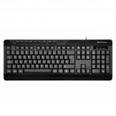 TECLADO QWERTY ESPAÑOL MULTIMEDIA  PHOENIX PHKEYLIGHT CON CABLE USB