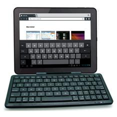 MINI TECLADO INALAMBRICO PHOENIX KEYTABLET MULTIMEDIA BLUETOOTH / SOPORTE UNIVERSAL PARA TABLET IPAD