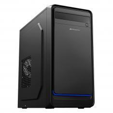 CAJA ORDENADOR SOBREMESA PHOENIX MICRO ATX / ITX / 2 USB 3.0 / AUDIO / NEGRA