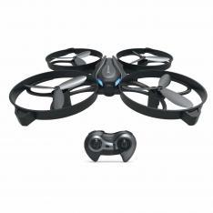 DRONE CUADRICOPTERO  PHOENIX  PHQUADCOPTERS 6 EJES / RADIO CONTROL /  ESTABILIZADOR ALTURA HOVERING / SIN CABEZA / AUTO DESPEGUE Y ATERRIZAJE / VUELTA A CASA  ONE KEY RETURN / MODO FLIP 3D / 3 VELOCIDADES NEGRO GRIS