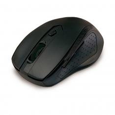 MOUSE RATON OPTICO PHOENIX PH516B+ WIRELESS INALAMBRICO 2.4GHZ NANO RECEPTOR 800-1600 DPI 5 BOTONES + SCROLL NEGRO