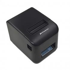 IMPRESORA TICKET TERMICA DIRECTA INALAMBRICA WIRELESS Y CABLE USB 80MM PHOENIX PHTHERMALPRINTER+ / USB / WIFI / MAX VELOCIDAD 260MM/S CORTADOR AUTOMATICO TOTAL Y PARCIAL / ESC / TPV / NEGRA
