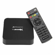 ANDROID TV BOX QUAD CORE @ 1.5 GHz PHOENIX PHTVBOX4K   ANDROID 5.1   1GB DDR3   8GB   RESOLUCION 4K 2160p    ETHERNET   WIFI   4 X USB   MICRO SD   HDMI 2.0   INCLUYE MANDO Y CABLE HDMI 1.4 NEGRO