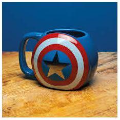 Taza Paladone Marvel Capitan America Multicolor 300ml