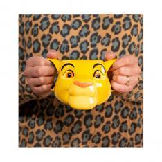 Taza 3D Paladone Rey Leon Simba 500ml