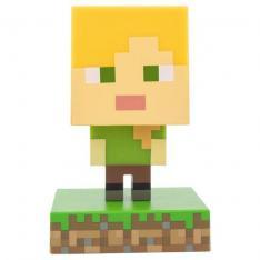 Lampara Paladone Icon Minecraft Alex