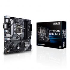 PLACA BASE ASUS INTEL PRIME B460M-A SOCKET 1200 DDR4 X4 2933MHZ MAX 128GB DVI-D DISPLAY PORT HDMI MATX