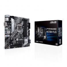 PLACA BASE ASUS INTEL PRIME H470M-PLUS SOCKET 1200 DDR4 X4 MAX 128GB 2933MHZ HDMI DISPLAY PORT DVI-D MATX