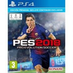 Juego Ps4 Pro Evolution Soccer 2018 Premium Informatica Megasur