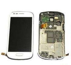 REPUESTO PANTALLA LCD+TOUCH+FRAME(MARCO) PARA SMARTPHONE SAMSUNG GALAXY S3 MINI I8190 BLANCO