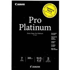 PAPEL FOTOGRAFICO CANON PLATINUM PRO 10X15 300G SAMPLE PAPEL