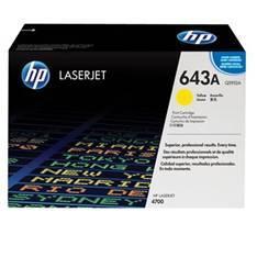 TONER HP 643A Q5952A AMARILLO 10000 PAG LASERJET 4700